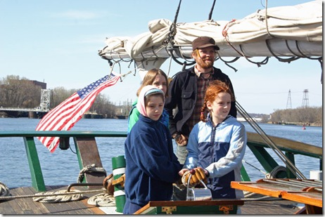 Sail Aboard the Hudson River Sloop Clearwater