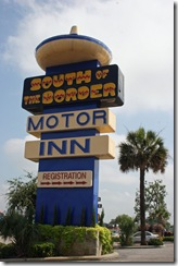 South of the Border – Scenic Route to Florida, Day 2