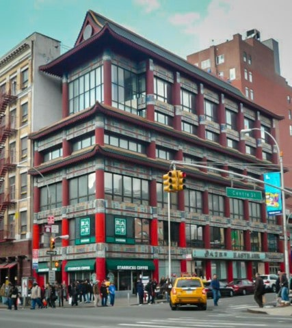 Chinatown building- NYC