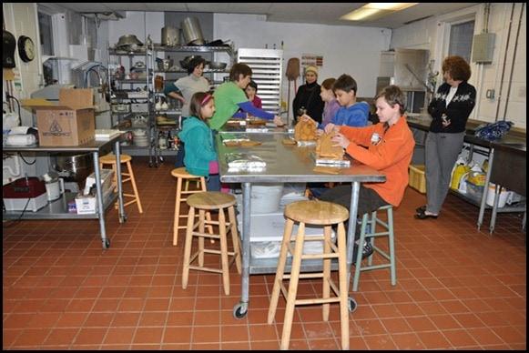 Gingerbread House Class - Battenkill Kitchen - Cambridge, NY