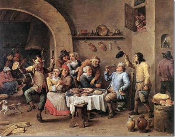 Twelfth-night (The King Drinks) by David Teniers the Younger