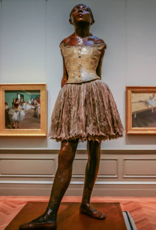 The Dancer at the Met in NYC
