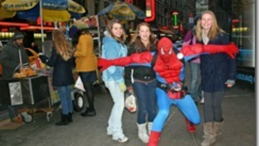 Spiderman the Musical, and Other Feats of Great Daring in Times Square