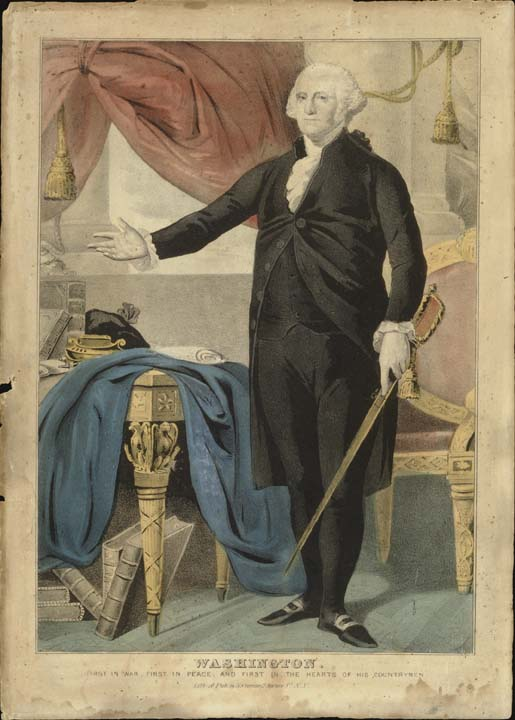 George Washington (1732-1799) Nathanial Currier