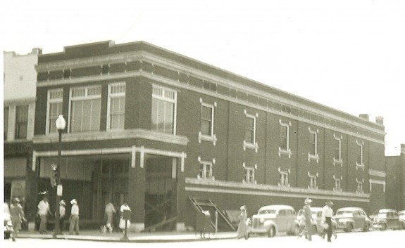 Downtown Emporia, circa 1945 (photo courtesy of the Lyon County Historical Society)