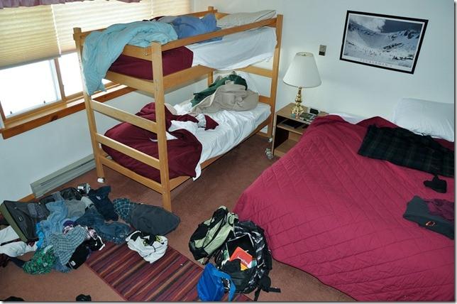 ski condo bedroom