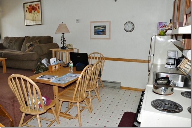 ski condo kitchen