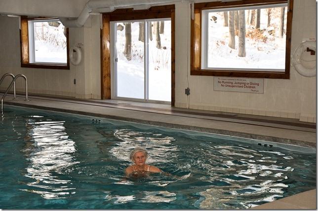 ski condo pool