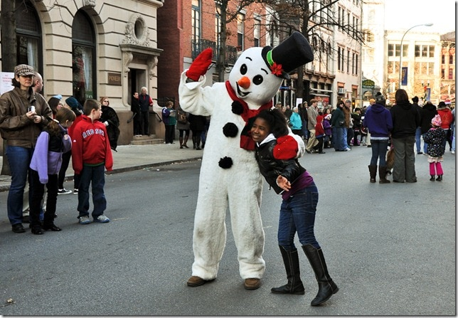 Victorian Stroll - Troy, NY- Frosty the Snowman