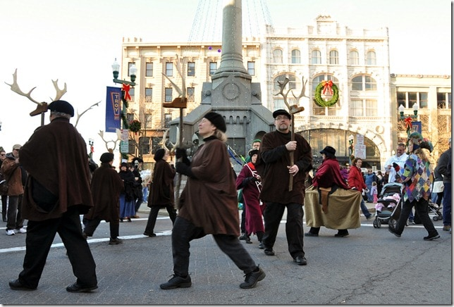 Victorian Stroll - Troy, NY- Morris Dancers