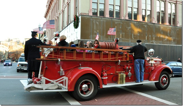 Victorian Stroll - Troy, NY - fire truck