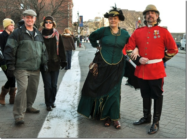 Victorian Stroll - men in uniform