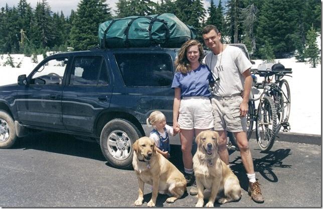 Toyota 4Runner and family