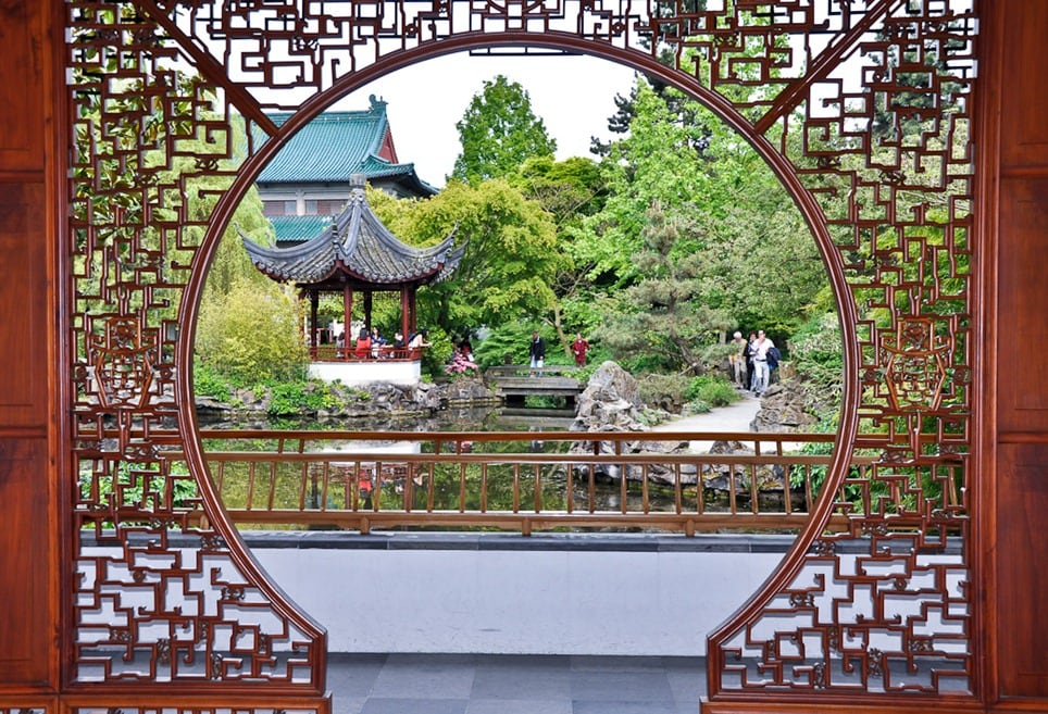 Enter the year of the dragon in vancouver s chinese garden - How to create a chinese garden ...