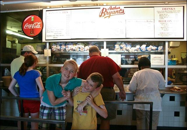 Arthur Bryants Barbeque - Kansas City, MO - placing orders