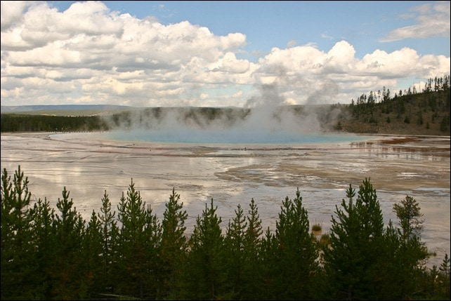 Grand Prismatic Spring- Yellowstone National Park