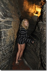 Howe Cavern- some of the tunnels can get a little tight.