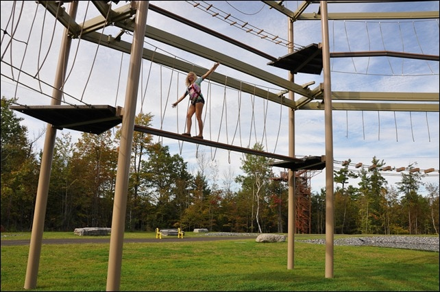 Howe High Adventure Ropes Course