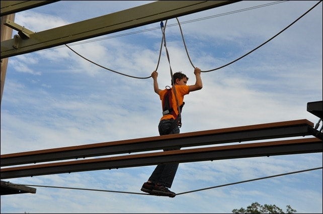 Howe High Adventure Rope Course