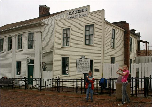 Mark Twain Boyhood Home and Museum Properties - Hannibal MO