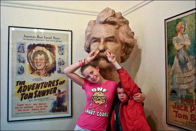 Meet Mark Twain - Children's Museum - Hannibal MO