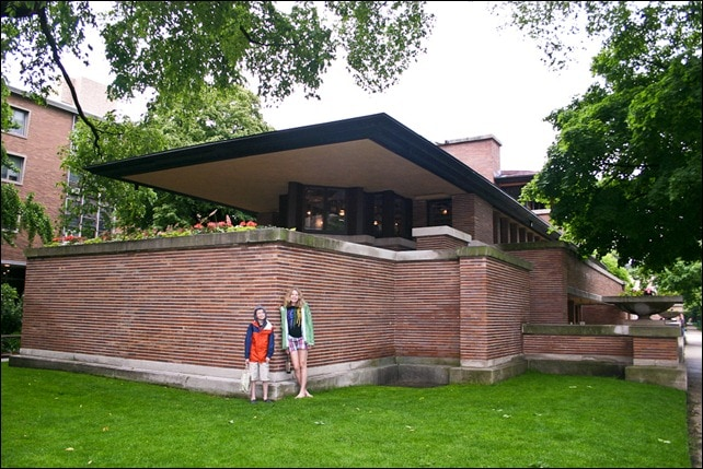 Take the Kids on a Wright 3 Mystery Tour of Robie House In Chicago