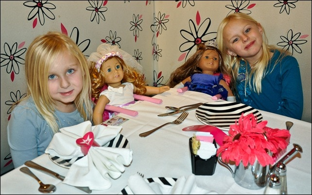 Tea with Dolls - American Girl Place - NYC
