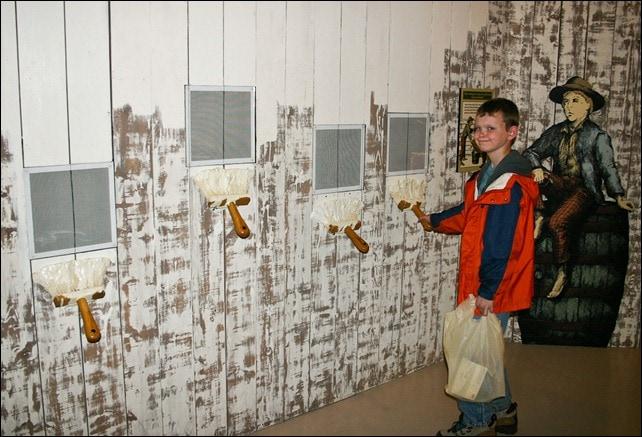 Tom Sawyer's Fence - Children's Museum -  Mark Twain Boyhood Home and Museum Properties - Hannibal, MO