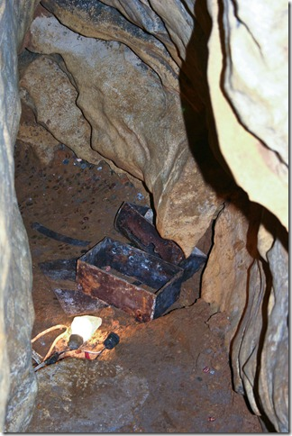Treasure Chest - Mark Twain Cave - Hannibal, MO