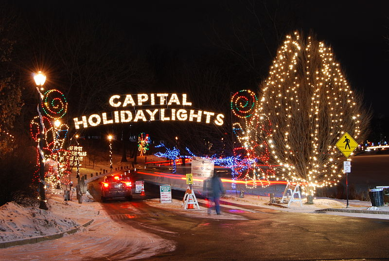 Holiday Lights In The Capital Region 2012