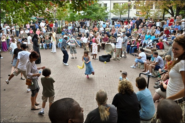 Asheville NC Drum Circle