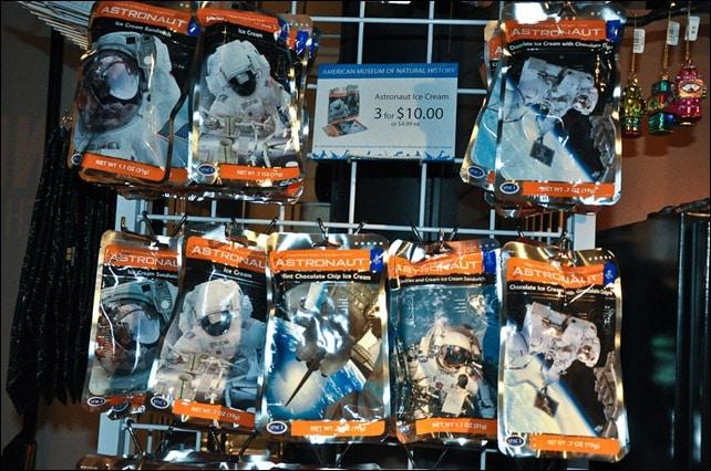 Astronaut Ice Cream - Beyond Planet Earth - AMNH