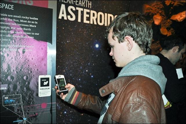 Augmented Reality app - Beyond Planet Earth - AMNH