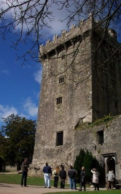 Looking up to the Blarney Stone, 2005