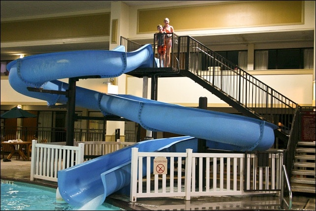 Kansas Ramada Waterslide