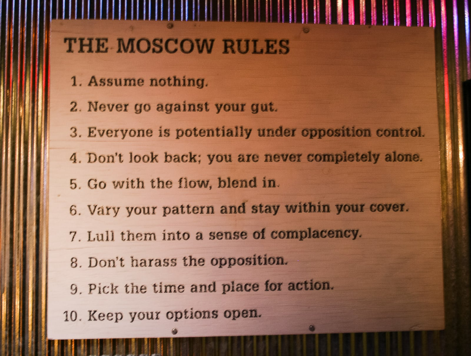 the complete book of rules pdf