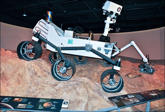 Rover - Beyond Planet Earth - AMNH