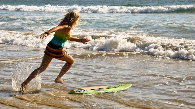 Skimboard Sprint - Take Two
