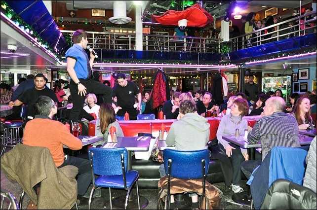 Stardust Diner Center Stage Seating