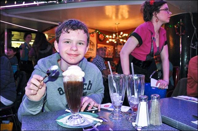 Stardust Diner Root Beer Float