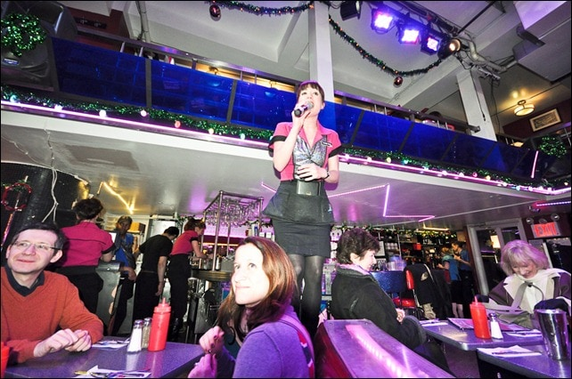 Stardust Diner Singing Waitress