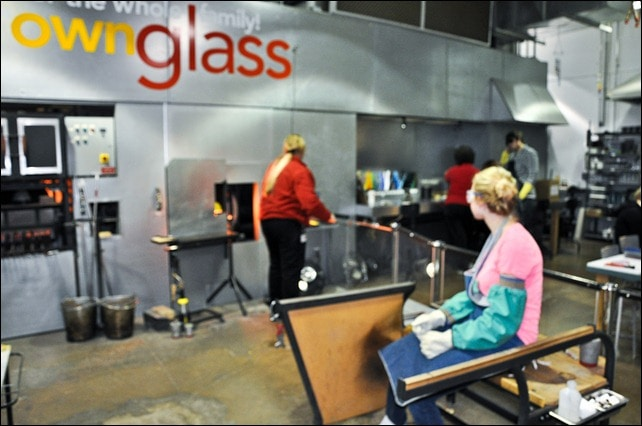 corning glass museum make your own glass