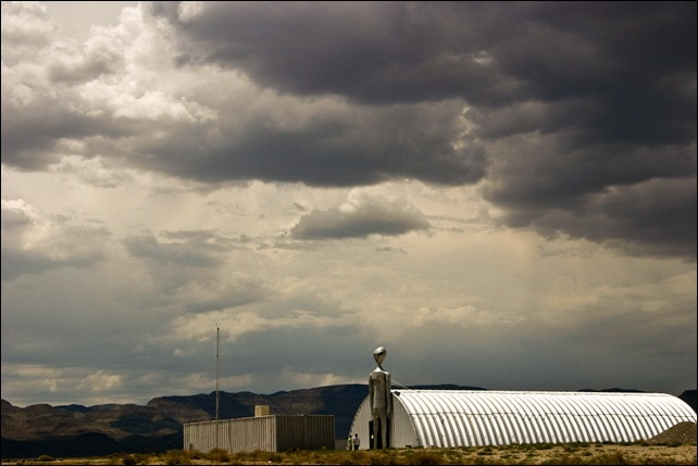 Alien Research Center - exterior