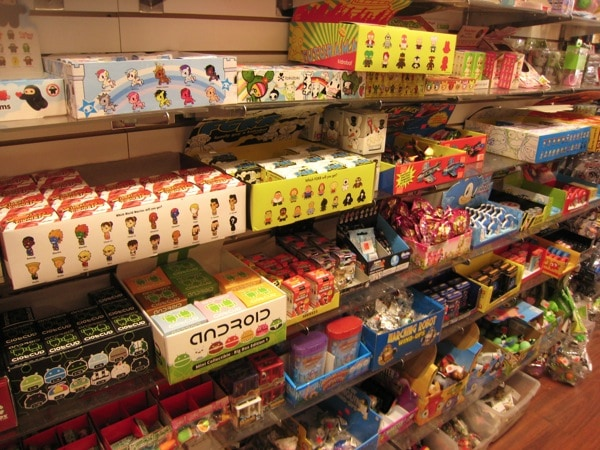 Mystery boxes of all variety at Toy Tokyo NYC
