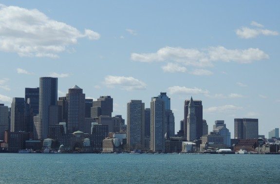 Boston from the Water
