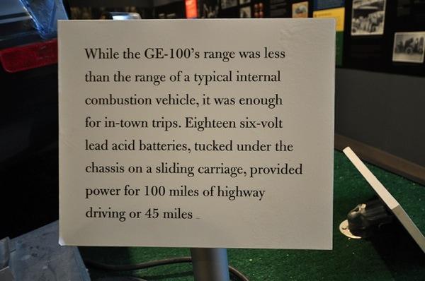 GE 100 info