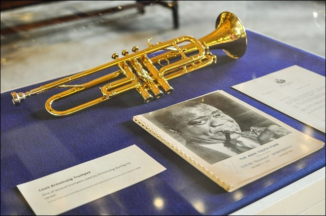 Louis Armstrong trumpet