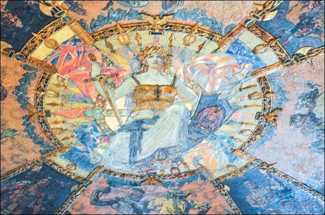 NY Capitol mural