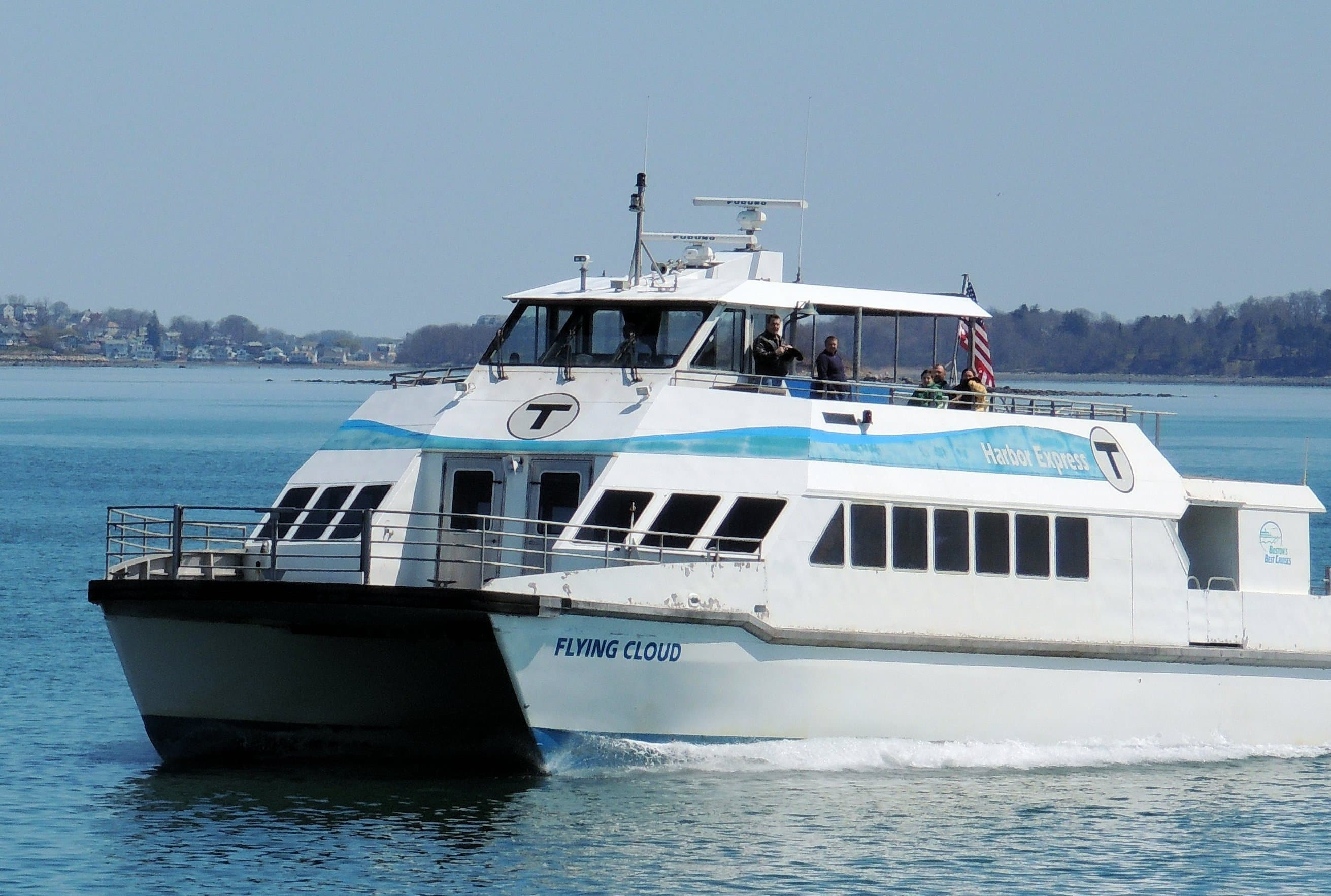 Cruising Boston Harbor with Boston's Best Cruises