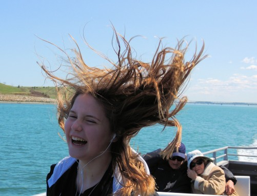 The Upper Deck was Windy!